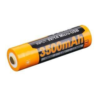 Fenix АКБ 18650 3500 mAh Li-ion (USB)