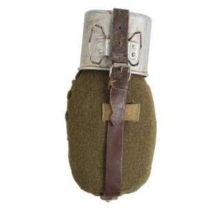 Фляга алюминиевая с кружкой и чехлом Румыния (б/у), Sturm Mil-Tec®