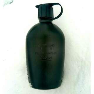 Фляга армії британії б \ у, [019] Black, Mil-tec
