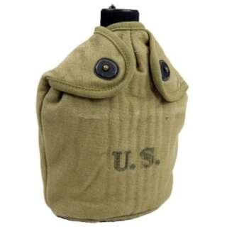 Фляга полевая М10 американская (полный комплект) WW2 US Army Canteen (реплика), , [055] Khaki, Sturm Mil-Tec® Reenactment