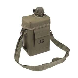 Фляга Sturm Mil-Tec PATROL 2 литра OD с чехлом и ремешком, Sturm Mil-Tec®