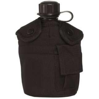 Фляга в чехле с подстаканником US, [019] Black, Sturm Mil-Tec®