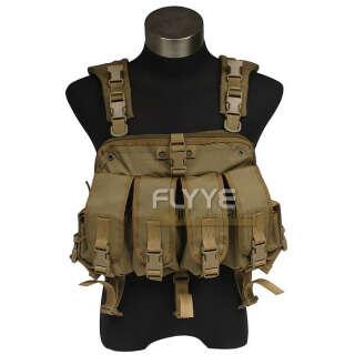 Flyye Pathfinder Chest Harness Khaki