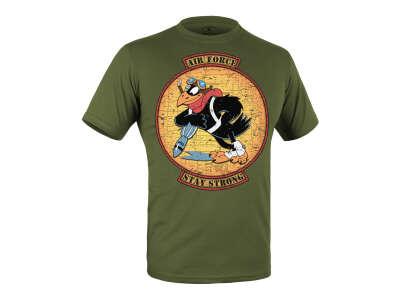 Футболка c малюнком AIR FORCE (Olive Drab), P1G®