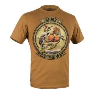 Футболка c рисунком ARMY, Coyote Brown, P1G®
