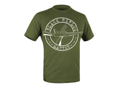 Футболка c малюнком Black Rifles Matter (Olive Drab), P1G®