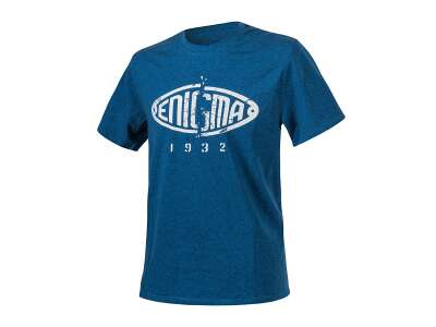 Футболка ENIGMA - Melange, 6501Z-Blue/Black Melange, Helikon-Tex