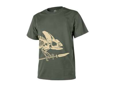 Футболка FULL BODY SKELETON - Cotton, Olive Green, Helikon-Tex