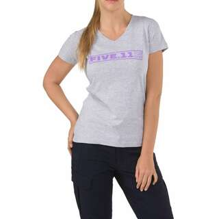 Футболка женская 5.11 DRILL MASTER T-SHIRT - WOMEN'S, [016] Heather Grey