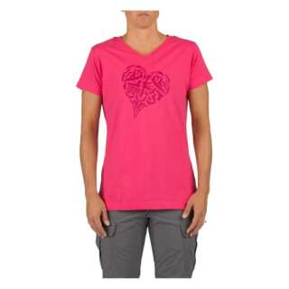 Футболка женская 5.11 HEART OF STEEL T-SHIRT - WOMEN'S, [502] Pink, 5.11 Tactical®