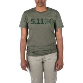 Футболка женская 5.11 LEGACY TONAL S/S TEE, [223] Military Green Heather