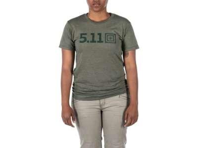 Футболка женская 5.11 LEGACY TONAL S/S TEE, [223] Military Green Heather