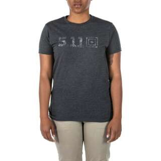 Футболка женская 5.11 LEGACY TOPO FILL S/S TEE, [035] CHARCOAL HEATHER