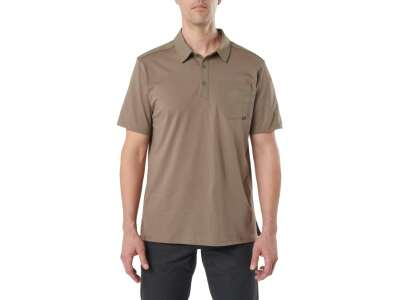 Футболка поло тактична з коротким рукавом 5.11 AXIS SHORT SLEEVE POLO, [172] Stampede, 44140