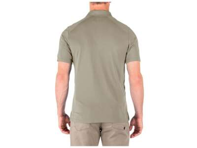 Футболка поло тактична з коротким рукавом 5.11 РARAMOUNT SHORT SLEEVE POLO, [160] Silver Tan, 44140