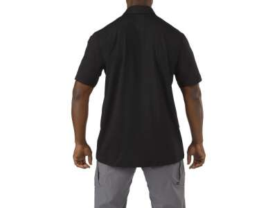 Футболка Поло тактична з коротким рукавом 5.11 ODYSSEY POLO - SHORT SLEEVE, [019] Black, 44140