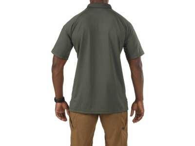 Футболка поло тактическая с коротким рукавом 5.11 Performance Polo - Short Sleeve, Synthetic Knit, [190] TDU Green, 5.11