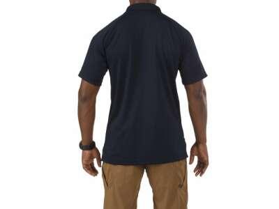 Футболка поло тактическая с коротким рукавом 5.11 Performance Polo - Short Sleeve, Synthetic Knit, [724] Dark Navy, 5.11