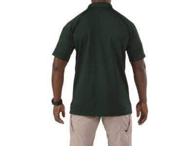 Футболка поло тактична з коротким рукавом 5.11 Performance Polo - Short Sleeve, Synthetic Knit, [860] L.E. Green, 44140