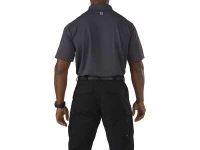 Футболка поло тактична з коротким рукавом 5.11 Pinnacle Short Sleeve Polo, [018] Charcoal, 44140