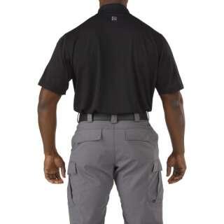 Футболка поло тактична з коротким рукавом 5.11 Pinnacle Short Sleeve Polo, [019] Black, 44140