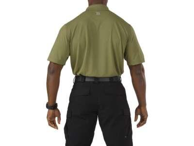 Футболка поло тактическая с коротким рукавом 5.11 Pinnacle Short Sleeve Polo, [200] Fatigue, 5.11