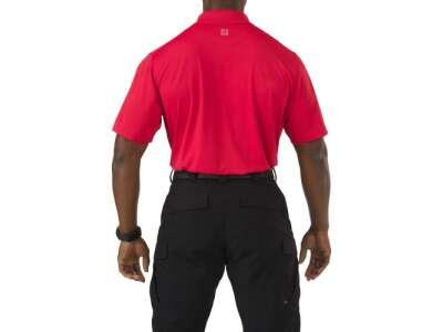 Футболка поло тактична з коротким рукавом 5.11 Pinnacle Short Sleeve Polo, [477] Range Red, 44140