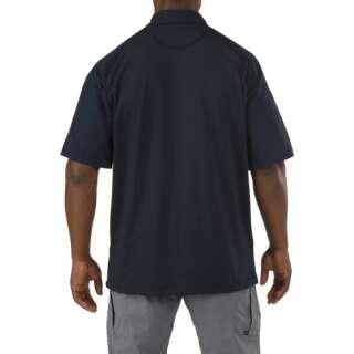 Футболка Поло тактична з коротким рукавом 5.11 RAPID PERFORMANCE POLO - SHORT SLEEVE, [019] Black, 44140