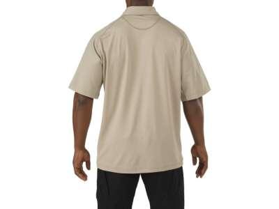 Футболка Поло тактическая с коротким рукавом 5.11 RAPID PERFORMANCE POLO - SHORT SLEEVE, [160] Silver Tan, 5.11 Tactical®
