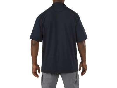 Футболка Поло тактическая с коротким рукавом 5.11 RAPID PERFORMANCE POLO - SHORT SLEEVE, [724] Dark Navy, 5.11 Tactical®