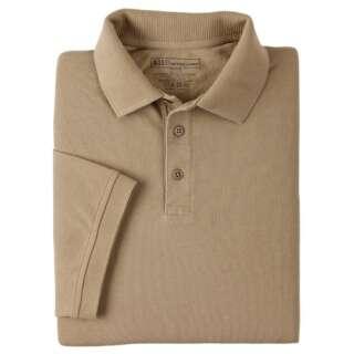 Футболка Поло тактическая с коротким рукавом 5.11 Professional Polo - Short Sleeve, [160] Silver Tan, 5.11