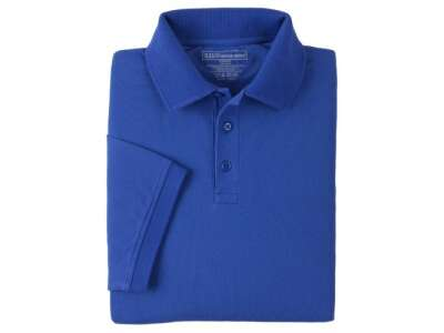 Футболка Поло тактична з коротким рукавом 5.11 Professional Polo - Short Sleeve, [692] Academy Blue, 44140