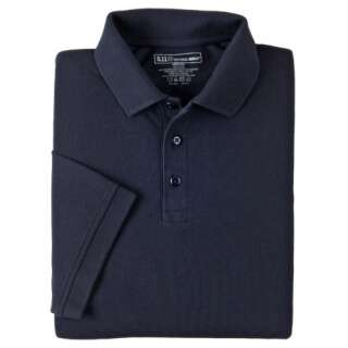 Футболка Поло тактична з коротким рукавом 5.11 Professional Polo - Short Sleeve, [724] Dark Navy, 44140
