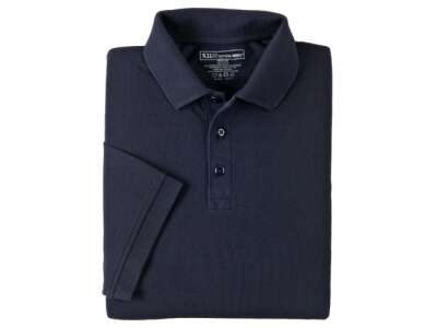 Футболка Поло тактична з коротким рукавом 5.11 Professional Polo - Short Sleeve, [724] Dark Navy, 5.11 ®