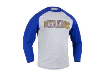 Футболка-реглан Ball-T Ukraine, Royal Blue, P1G-Tac