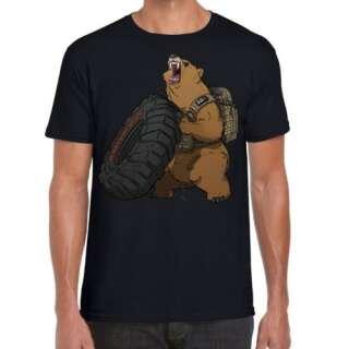 Футболка з малюнком 5.11 Grizzly Fitness, Black, 5.11 ®