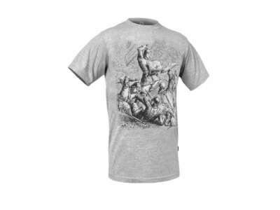 Футболка с рисунком Битва при Ашдауне, Iron Grey, P1G®