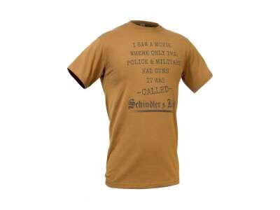 Футболка з малюнком Schindler`s List, [тисячі сто сімдесят чотири] Coyote Brown, P1G-Tac