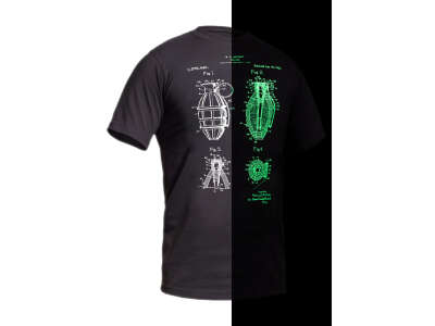 Футболка со светящимся рисунком Grenade NightGlow Series, P1G®