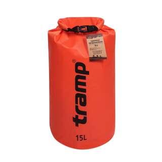 Гермомішок Tramp PVC Diamond Rip-Stop помаранчевий 15 л