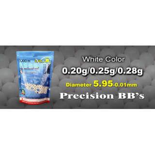 G&G шары 0.25 белые (3000 bb)