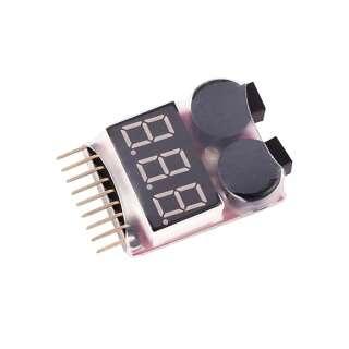 Индикатор напряжения для Li-Po батарей 1S-8S [8FIELDS]
