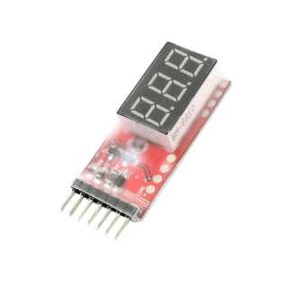 Индикатор напряжения для Li-Po батарей 2S-6S [RC Model]