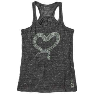 Женская майка 5.11 Heart Henna Tank, [085] Black Marble, 5.11 Tactical®