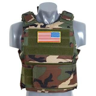Жилет PT TACTICAL BODY ARMOR, US Woodland, 8Fields