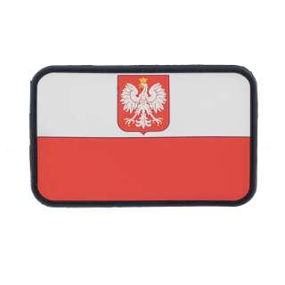 JTG Polish Flag (with eagle) Patch Fullcolor
