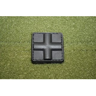 JTG Red Cross Medic 25mm Patch Black