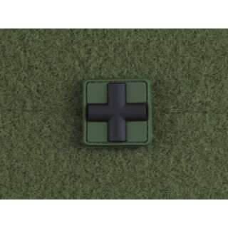 JTG Red Cross Medic 25mm Patch Forest