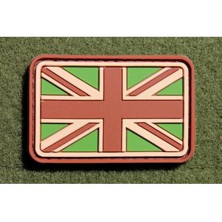 JTG UK Flag Small Patch Multicam