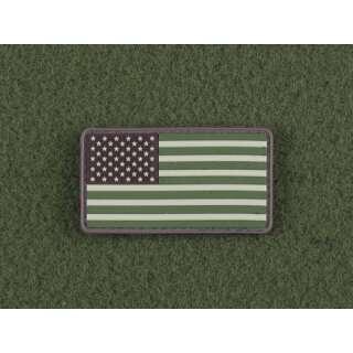 JTG US Flag Patch Forest